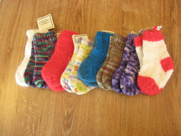 These ultra soft merino socks are designed to slip over the usual cotton  socks and keep baby's feet toasty warm no matter what the weather. - Babies & Toddlers Wild Rivers Wool